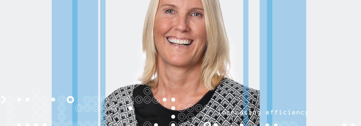 Portrettbilde: Mette Statle Gulbrandsen, prosjektleder